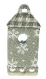 Vogelvilla Streu- und Dekoartikel, aus Filz gestanzt - weihnachten, filzaccessoires