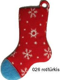 Hüttenschuh Streu- und Dekoartikel, aus Filz gestanzt - weihnachten, filzaccessoires
