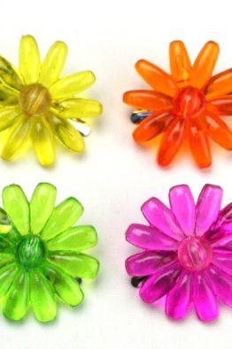 Acrylblüte mit Clip Übersicht (420260)