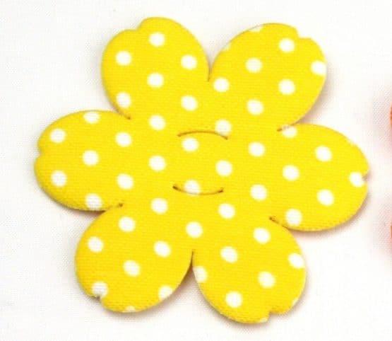 Blüte mit Schlitz, aus Stoff - fruehjahr-filzaccessoires, filzaccessoires, everyday-filzaccessoires
