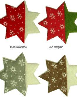 Stern zum Befüllen, aus Filz gestanzt - weihnachten, filzaccessoires