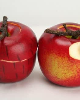 Deko-Apfel, angeschnitten, ca. 6 cm - weihnachten-dekoaccessoires, herbst, dekoaccessoires