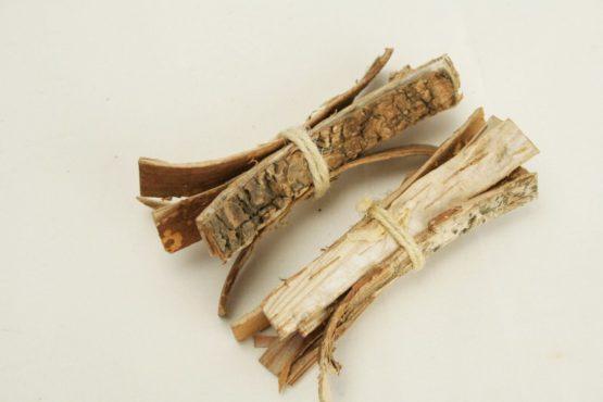 24 Bündel aus Birkenrinde, ca. 8 cm - naturmaterial, dekoaccessoires