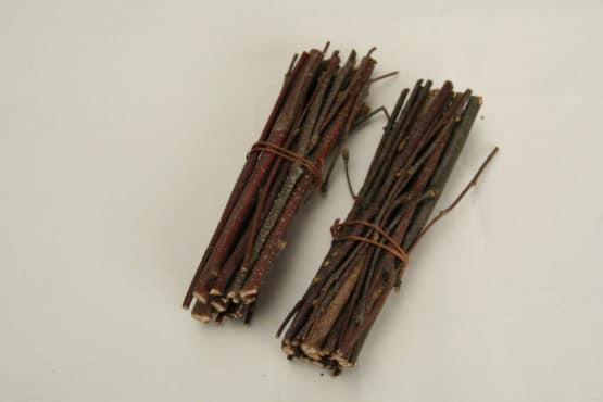 24 Bündel aus Birkenästchen, ca. 8 cm - naturmaterial, dekoaccessoires