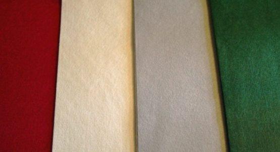 Filz-Tischläufer, 33 cm x 300 cm - weihnachten-tischdeko, tischdeko, everyday-tischdeko