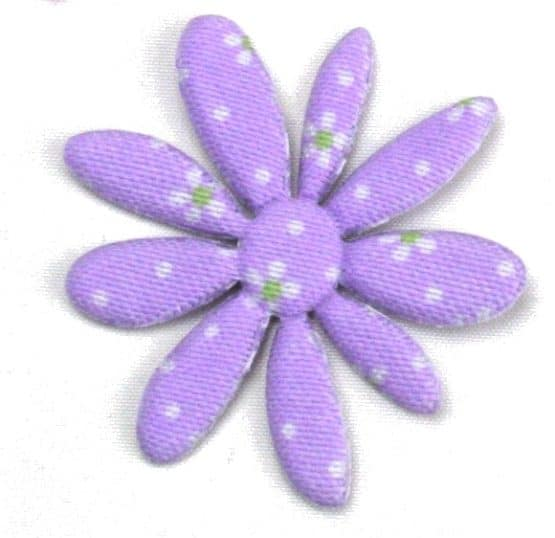 Streu-Blüte aus Stoff, ca. 5 cm - fruehjahr-filzaccessoires, filzaccessoires, everyday-filzaccessoires