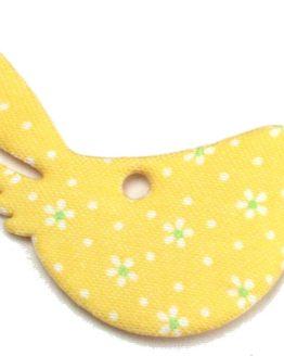 Streuartikel Vogel hellgrün - fruehjahr-filzaccessoires, filzaccessoires