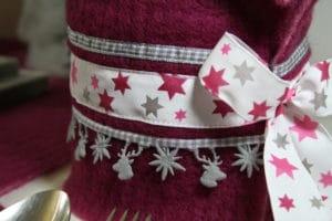 Dekobänder und Dekolitzen für Weihnachten
