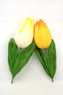 Tulpen-aus-Papier-weiss-gelb-450701-450702