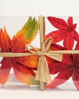 Künstliche Ahornblätter, rot-orange - herbst, dekoaccessoires